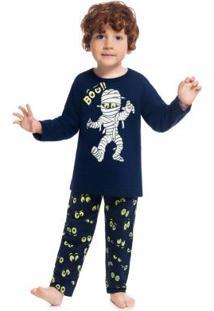 Pijama Azul Marinho