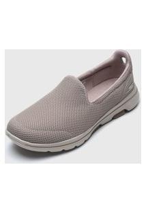 Slipper Skechers Go Walk 5 Bege