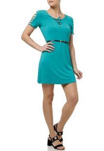 Vestido Curto Feminino La Gata Verde