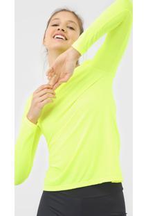 Camiseta Lff Neon Lisa Amarela - Amarelo - Feminino - Dafiti