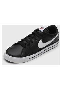 Tênis Nike Sportswear Court Legacy Preto
