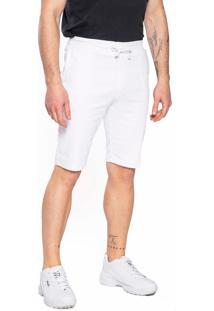Bermuda Sarja Aero Jeans Branca - Kanui