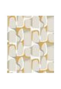 Papel De Parede Adesivo Decoração 53X10Cm Laranja -W22569