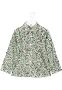 Cashmirino Camisa Floral - Green