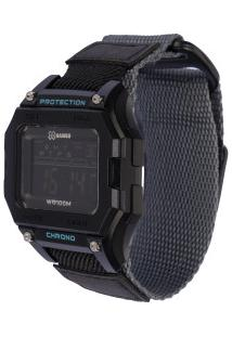 Relógio Digital X Games Xgppd138 - Unissex - Preto/Cinza