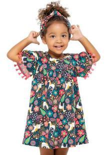 Vestido Infantil Nanai Viscose 600237.40064.6