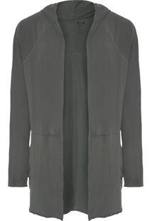 Casaco Masculino E-Fabrics Eco Cuts Over Soft - Verde Escuro