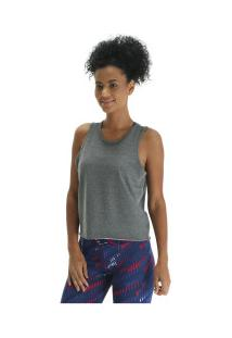 5029af4a24 Blusa Cropped Oxer Vossy - Feminina - Cinza Escuro
