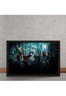 Quadro Decorativo Avengers Vingadores Filme Marvel 25X35