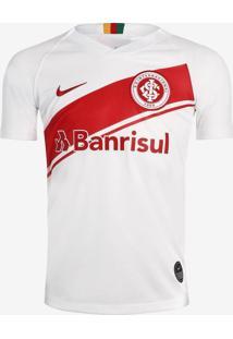 Camisa Infantil Nike Internacional 2019/20 Torcedor Branco/Vermelho - P