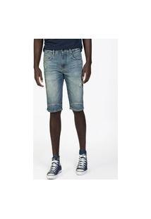 Bermuda Masculina Jeans Dest+Used