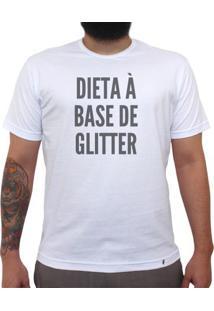 Dieta À Base De Glitter - Camiseta Clássica Masculina
