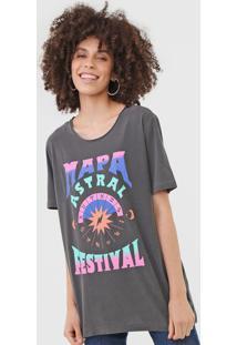 Camiseta Cantão Mapa Astral Grafite