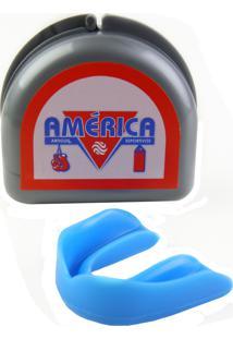 Protetor Bucal Duplo Azul América