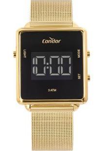 Relógio Condor Digital Trendy Cobjf156Ab/4X Feminino - Feminino-Dourado