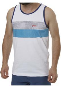 Camiseta Regata Masculina Branco - Masculino-Branco e1ea6caec08