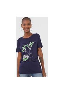 Camiseta Carmim Sneaker Azul-Marinho