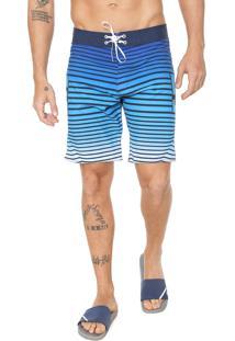 Bermuda Água Dc Shoes Reta Runwithit Azul - Kanui