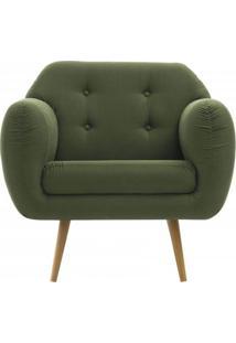 Poltrona Liverpool Verde Pes Palito Tauari - 50153 Sun House