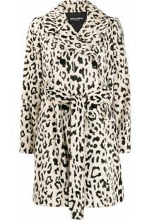 Dolce & Gabbana Casaco Com Abotoamento Duplo - Neutro
