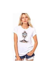 Camiseta Coolest Chic Lady Branco