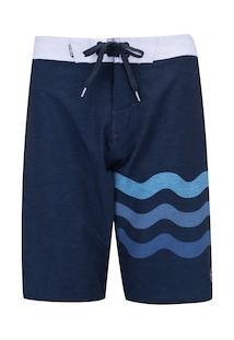 Bermuda O'Neill Boardshort Sublimado 8736A - Masculina - Azul Escuro