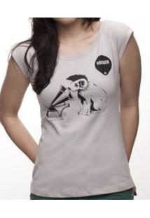 Camiseta C1C Rocker Cinza