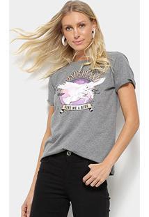 Camiseta Hapuna Baby Look Wonderland Feminina - Feminino