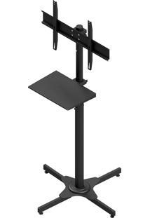 Suporte Pedestal Para Tv 32 A 75 Pol Avatron Tvc-02S Preto Com Sapata