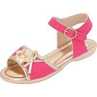 7168ccdaf Sandália Bebê Plis Calçados Carinho Feminina - Feminino-Pink