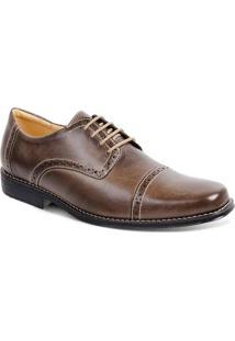 Sapato Social Para Pés Largos Oxford Sandro Moscol