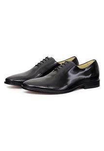 Sapato Oxford Adolfo Turrion Couro Liso Dia A Dia Confort Festa Preto