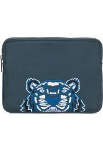 Kenzo Bolsa Para Laptop 'Tiger' - Verde
