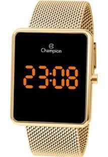 Relógio Championn Feminino Digital Ch40080J - Feminino-Dourado