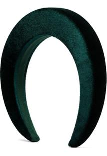 Bluetiful Milano Headband De Veludo Verde