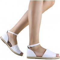 3a904371fc Sandália Zariff Shoes Rasteira Corda