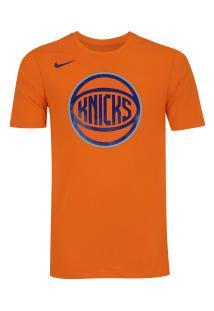 357f99a59c89c Camiseta Nike New York Knicks Logo - Masculina - Laranja