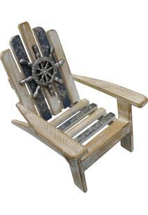 Enfeite De Madeira Kasa Ideia Cadeira Relax
