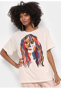Camiseta Cantão Local Feminina - Feminino