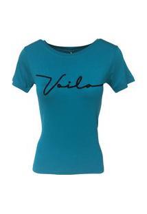 T-Shirt Camiseta Slim Lettering Voilà