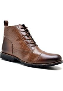Bota Masculina Sandro Moscoloni On The Road Marrom Escuro