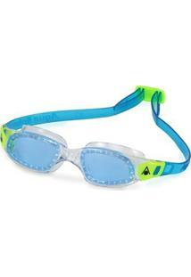 Óculos Natação Kameleon Kids Lente Azul Aqua Spher - Unissex