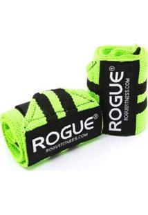 Munhequeira Wrist Wrap Elástica Rogue 30Cm Crossfit - Unissex
