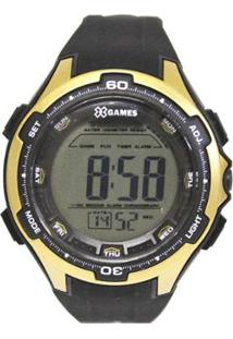 Relógio Masculino X-Games Digital Xmppd464-Bxpx - Unissex-Preto
