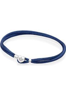 Bracelete Da Amizade Pandora Azul Marinho