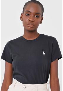 Camiseta Polo Ralph Lauren Logo Preta
