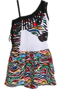 Vestido Zebra - Feminino