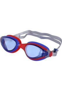4814f1c0d Óculos De Natação Speedo Sunset - Adulto - Vermelho/Azul