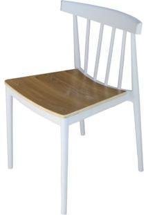 Cadeira Tango Em Polipropileno Branca - 52070 - Sun House