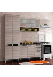 Cozinha Compacta Jazz 6 Pt Coimbra E Bege